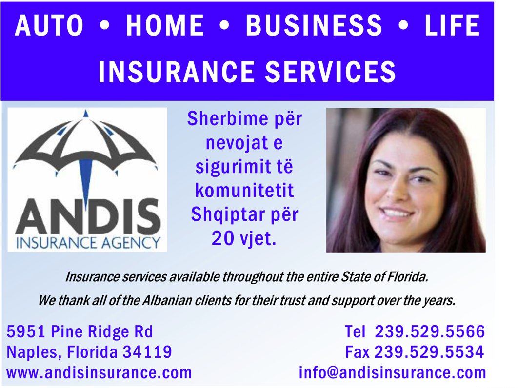 Andis Insurance Agency | Albanian Yellow Pages